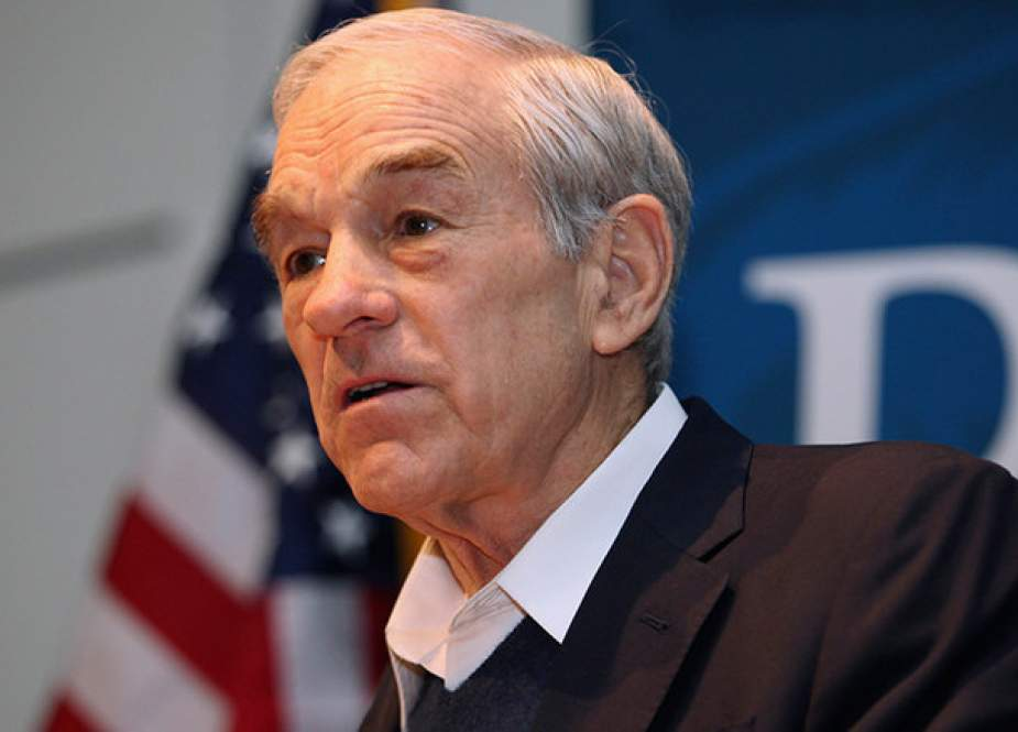 Former US presidential candidate Ron Paul (file photo)