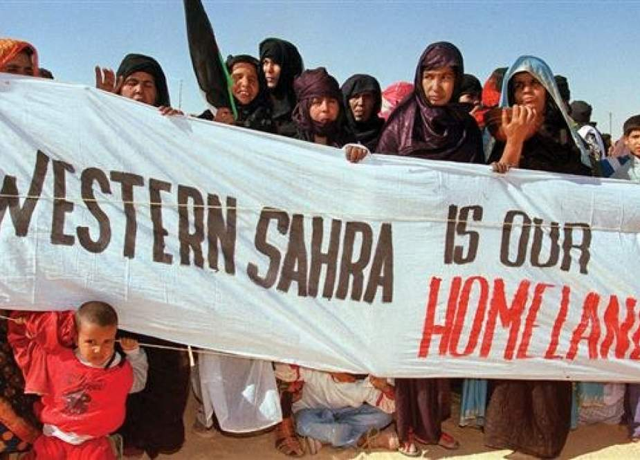 A group of Sahrawi people (file photo)