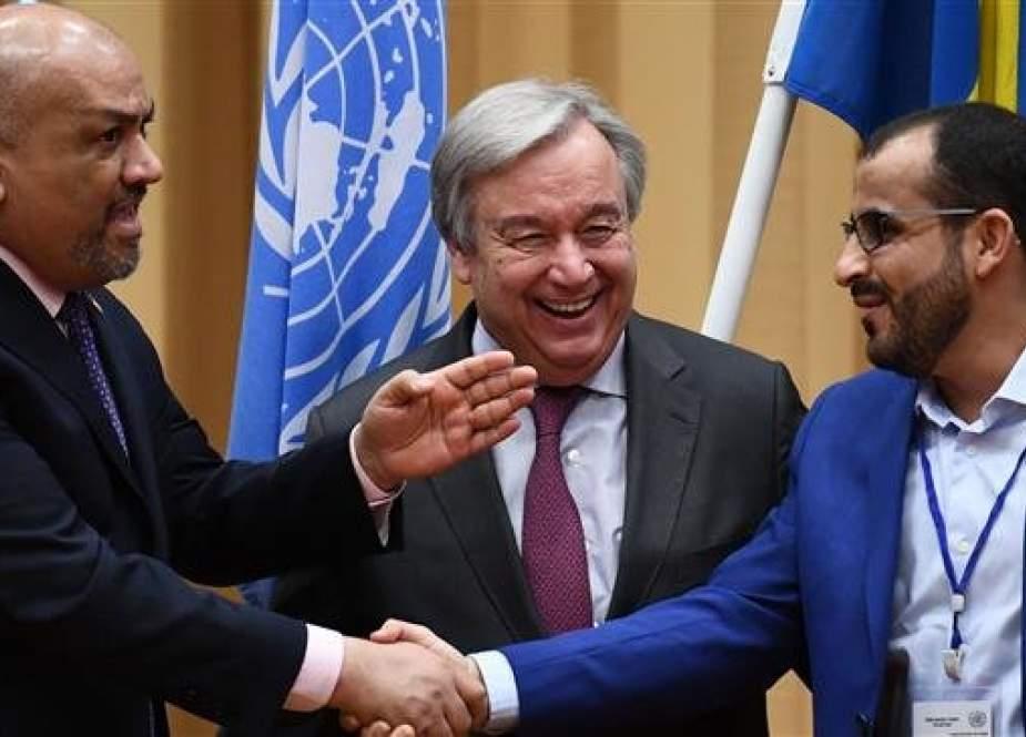 Houthi dan Kelompok Dukungan Saudi Setuju untuk Gencatan Senjata di Hudaydah