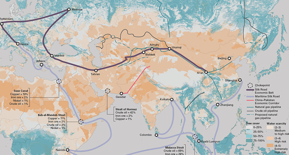 How the New Silk Roads are Merging into Greater Eurasia