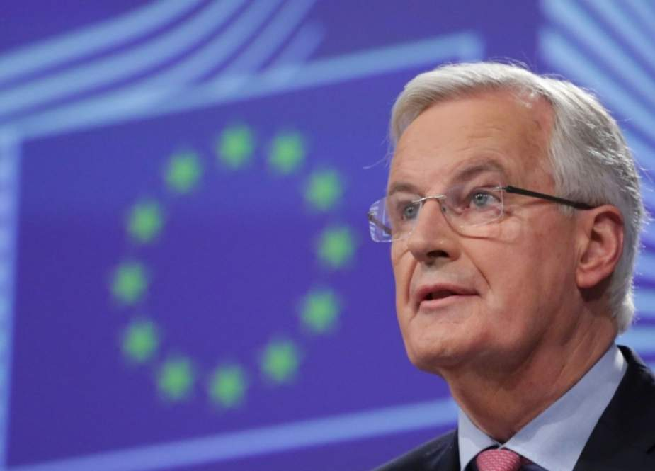Chief EU negotiator for Brexit Michel (File photo)