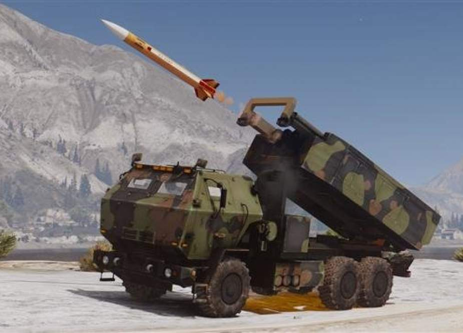 The file photo of a High Mobility Artillery Rocket System (HIMARS)