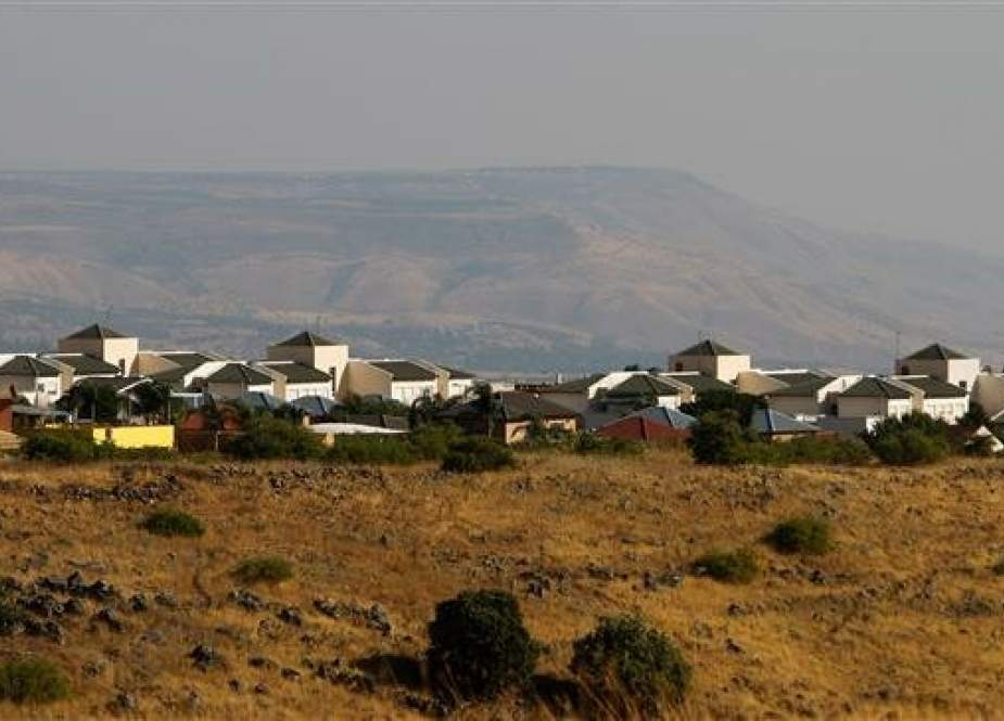 This photo by AFP shows an Israeli settlement on the occupied Golan Heights seen on June 28, 2017.