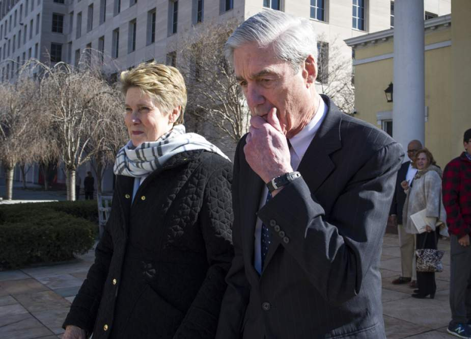 Special counsel Robert Mueller walks with his wife Ann Mueller on March 24, 2019 in Washington, DC. (AFP photos)