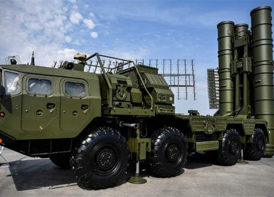 Russian S-400 anti-aircraft missile
