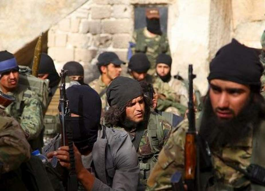Members of the Jabhat Fateh al-Sham Takfiri terrorist group, formerly known as al-Nusra Front.