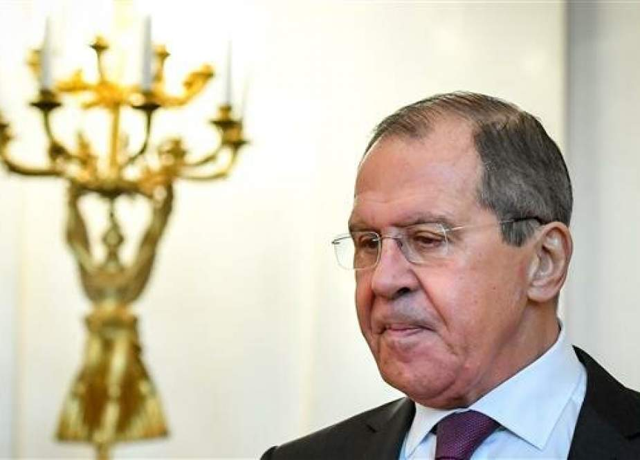 Russian Foreign Minister Sergei Lavrov (photo by AFP)