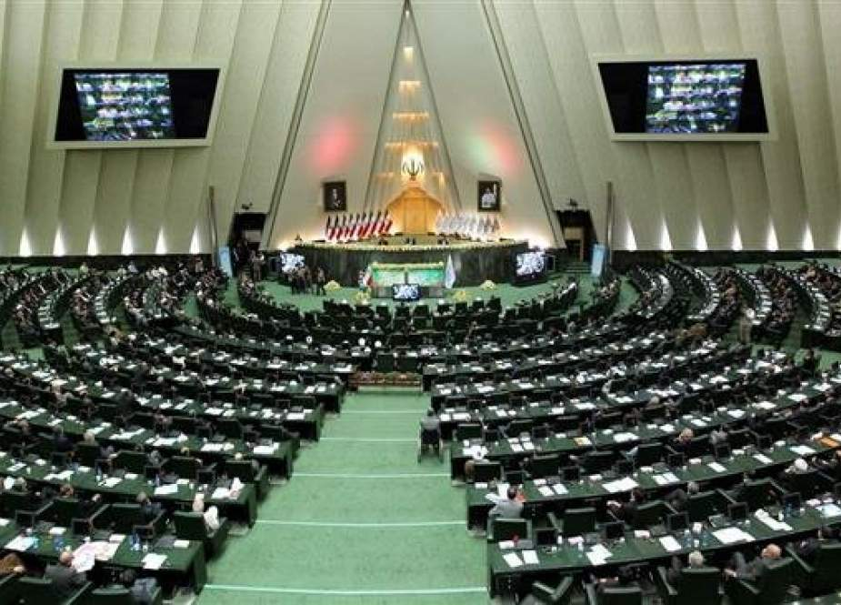 A file photo of the Iranian Parliament (Majlis) in session