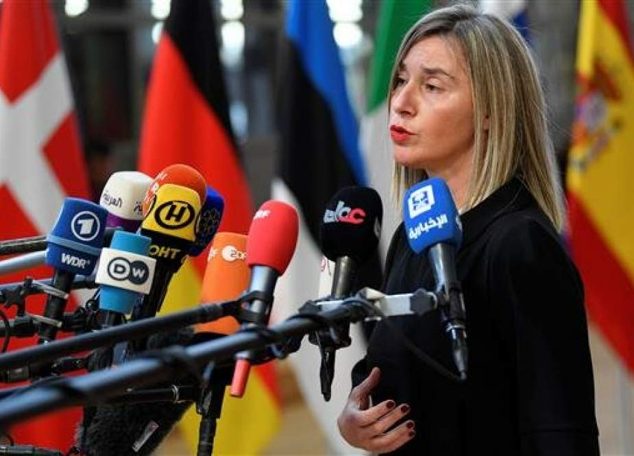 European Union foreign policy chief Federica Mogherini (Photo by Reuters)