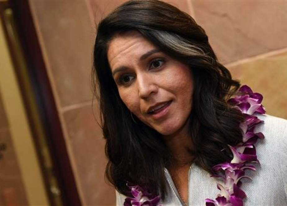 Tulsi Gabbard, a US representative from Hawaii and a 2020 Democratic presidential candidate (Photo by AFP)