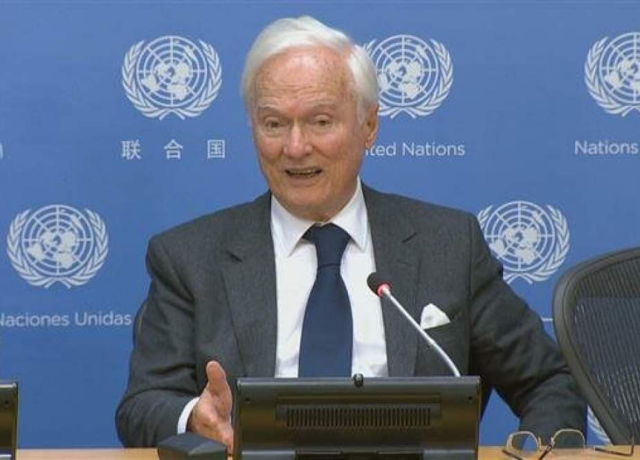 Idriss Jazairy, UN special rapporteur on the negative impact of the unilateral coercive measures