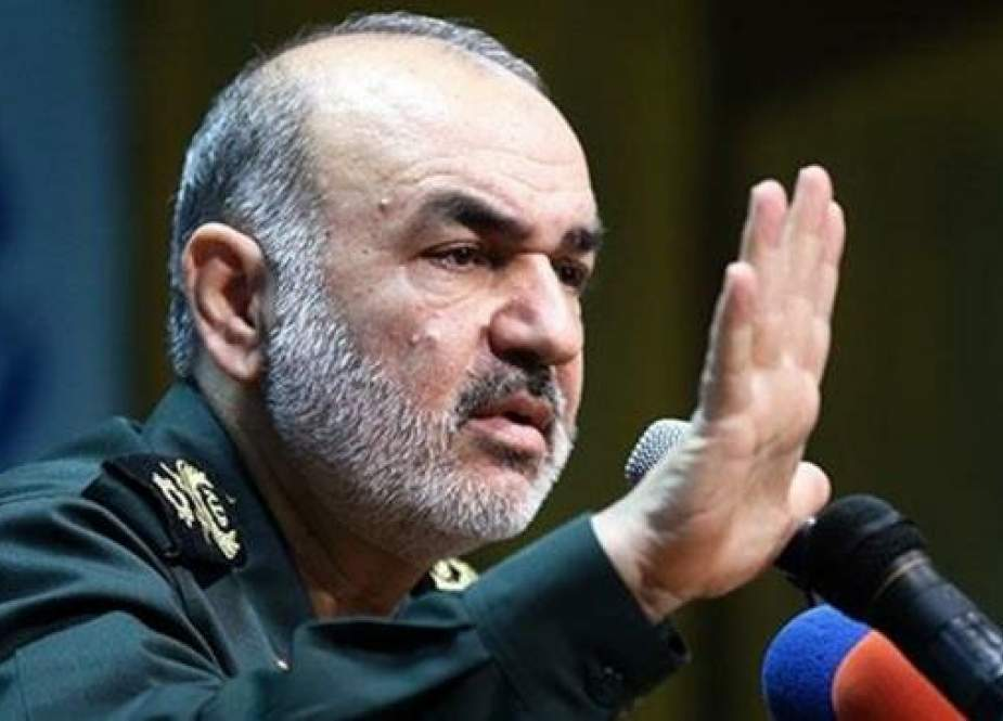Chief Commander of Islamic Revolution Guards Corpses (IRGC) Major General Hussein Salami