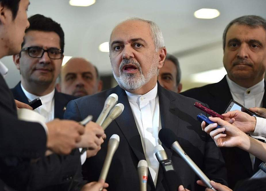 Iranian Foreign Minister Mohammad Javad Zarif (Photo by AFP)