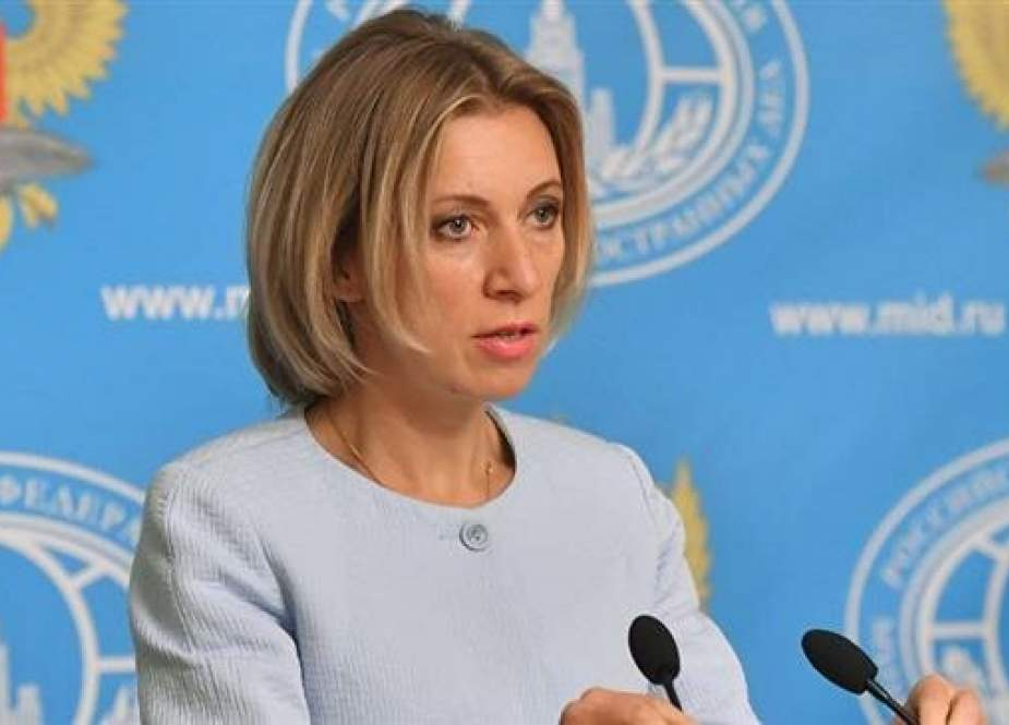Russian Foreign Ministry spokeswoman Maria Zakharova (Photo by Sputnik news agency)