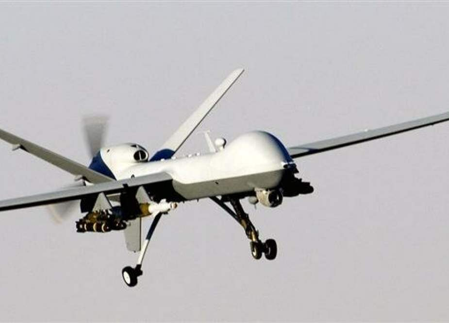 A US-made MQ-9 Reaper armed drone (file photo)