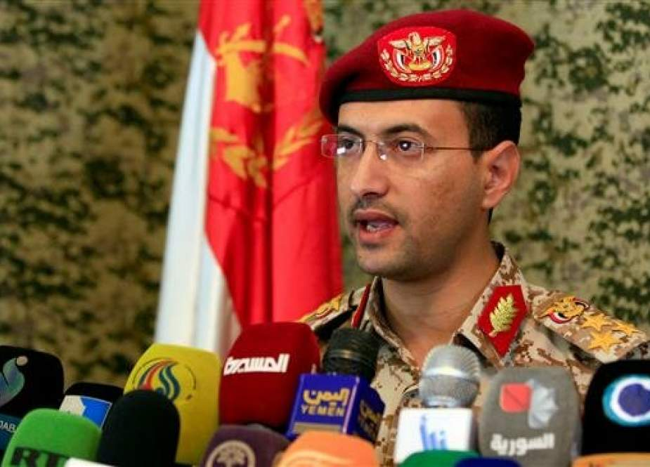 The spokesman for Yemeni Armed Forces, Brigadier General Yahya Saree (file photo)