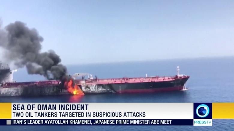 Front Altair's 23-member crew abandoned ship after the blast and were picked up by the nearby Hyundai Dubai vessel. The crew was then passed to an Iranian rescue boat, Hyundai Merchant Marine said in a statement