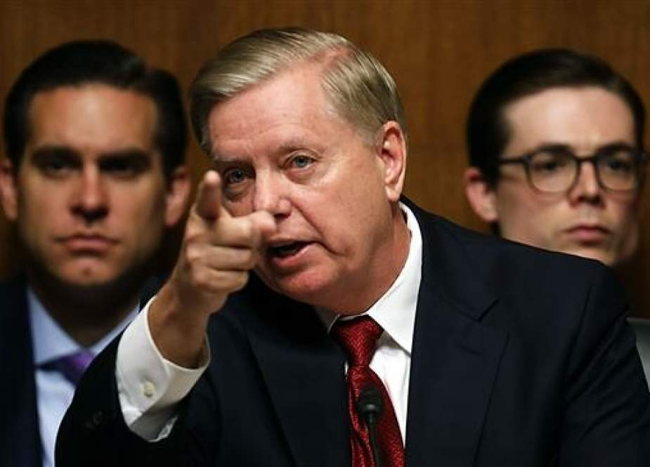 US Sen. Lindsey Graham during a Senate Judiciary Committee hearing.jpg