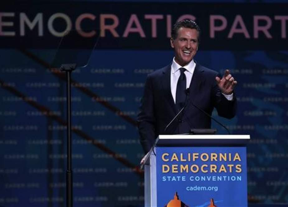 California Gov. Gavin Newsom at the Moscone Center.jpg