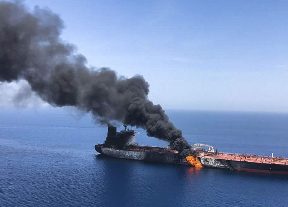 US using attacks on two oil tankers to trigger war in Mideast