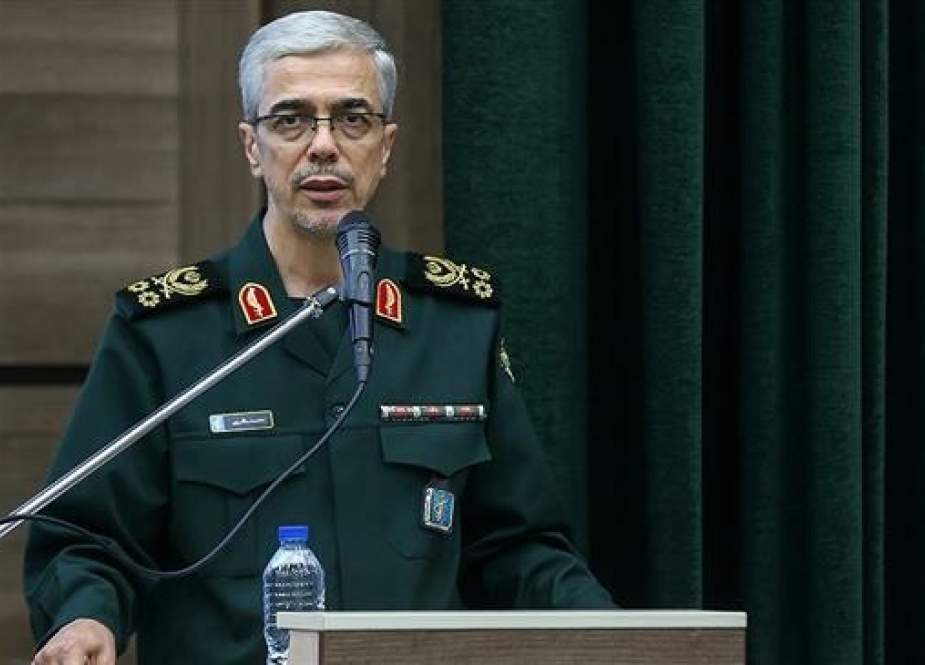 Chairman of the Chiefs of Staff of the Iranian Armed Forces Major General Mohammad Baqeri