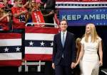 Jared Kushner (L) and Ivanka Trump arrive for the official launch of the Trump 2020 campaign at the Amway Center in Orlando, Florida on June 18, 2019. (AFP photo)