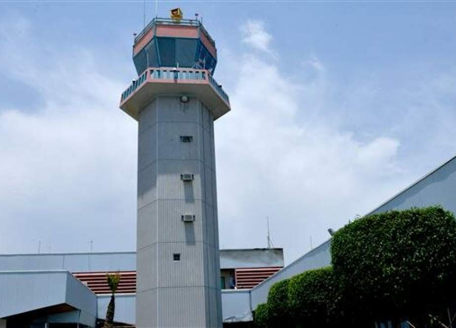 Control tower at the Abha airport in the southwestern Saudi Arabian.jpg
