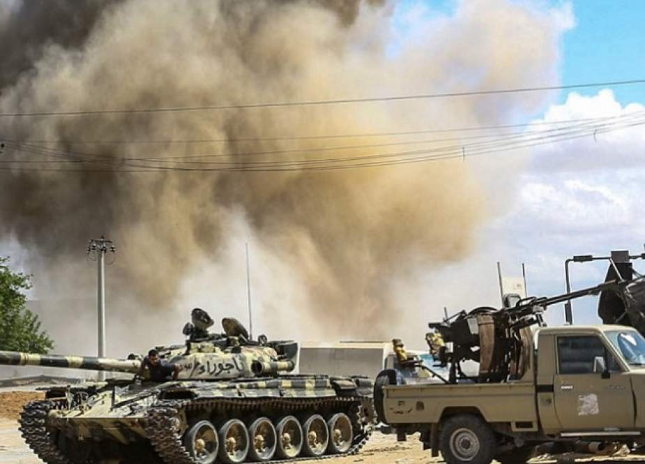 Proxy War Turkey Fighting in Libya
