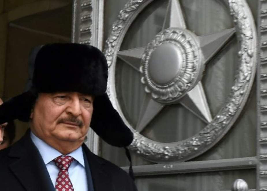 US banks on Libya strongman Haftar, experts say