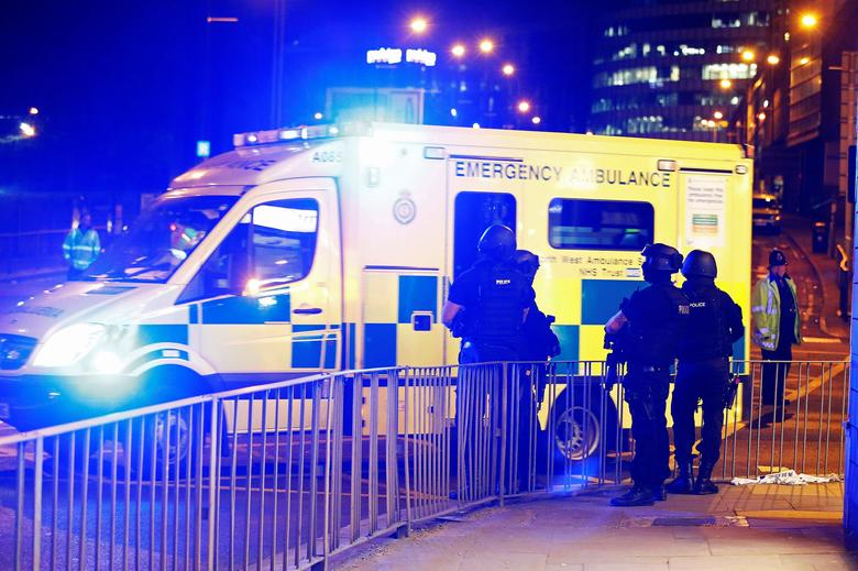 May 2017 - British police halt intelligence-sharing with the United States after the name of the suicide bomber who attacked a pop concert in Manchester was leaked to U.S. media. Trump calls the leaks