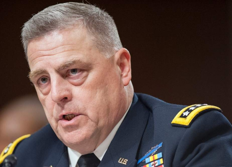 US Army Gen. Mark A. Milley testifies before the Senate Armed Services Committee on his nomination to be chairman of the Joint Chiefs of Staff, on Capitol Hill on July 11, 2019 in Washington, DC. (File photo)