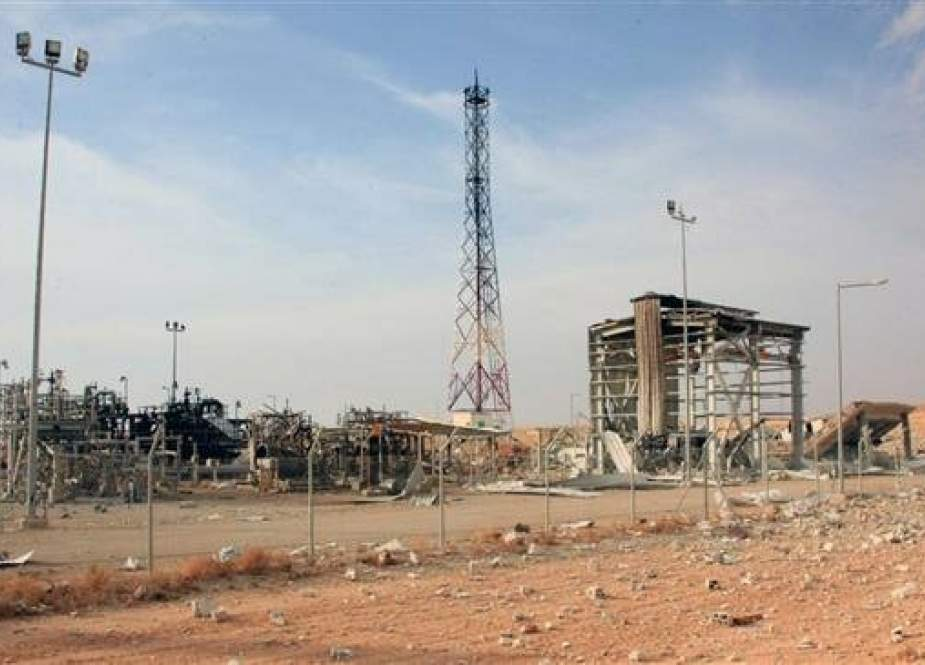 Shaer gas field in the eastern countryside of Syria's central province of Homs.jpg