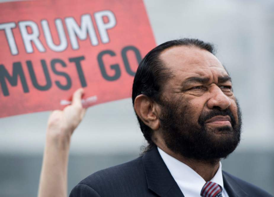 US Representative Al Green, Democrat of Texas