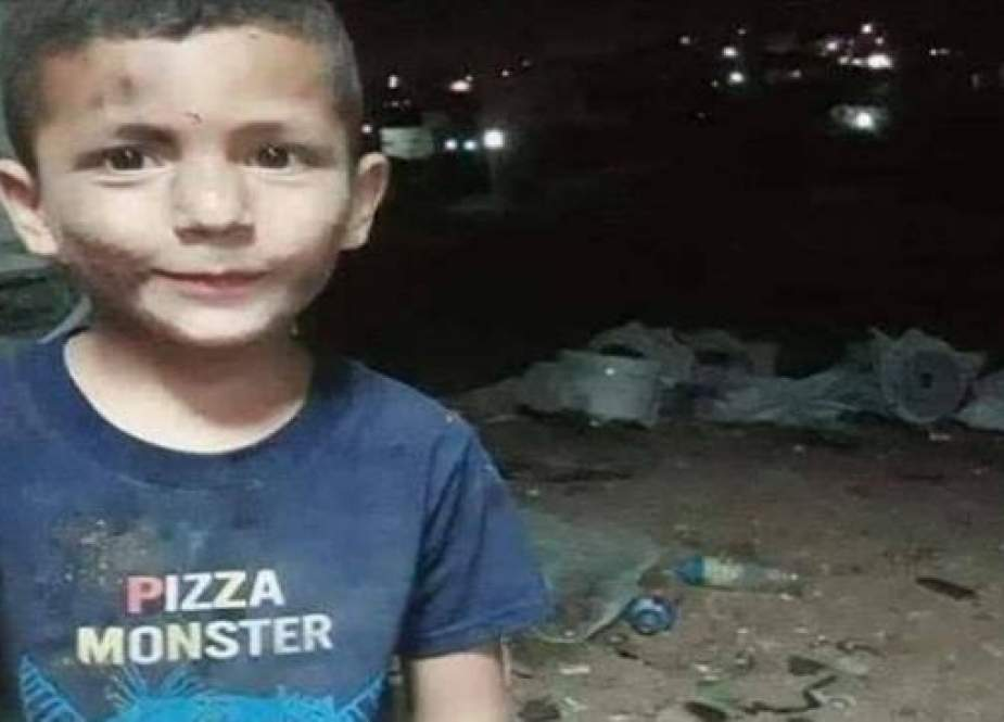 A photo taken from Palestinian media shows Tareq Zabania, who was killed after an Israeli settler ran him over in the occupied West Bank, on July 15, 2019.