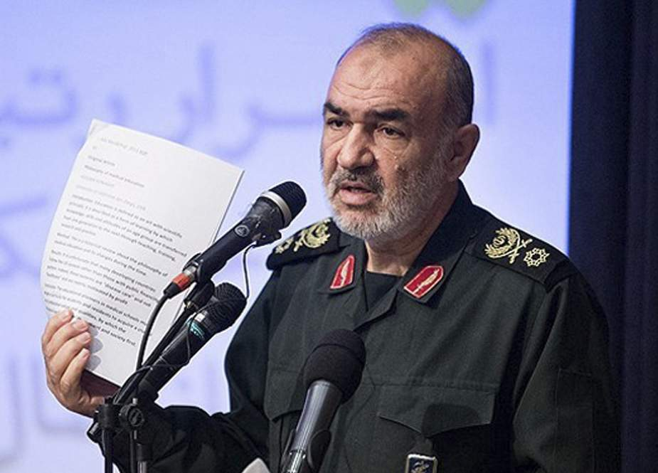 The chief commander of the Islamic Revolution Guards Corps