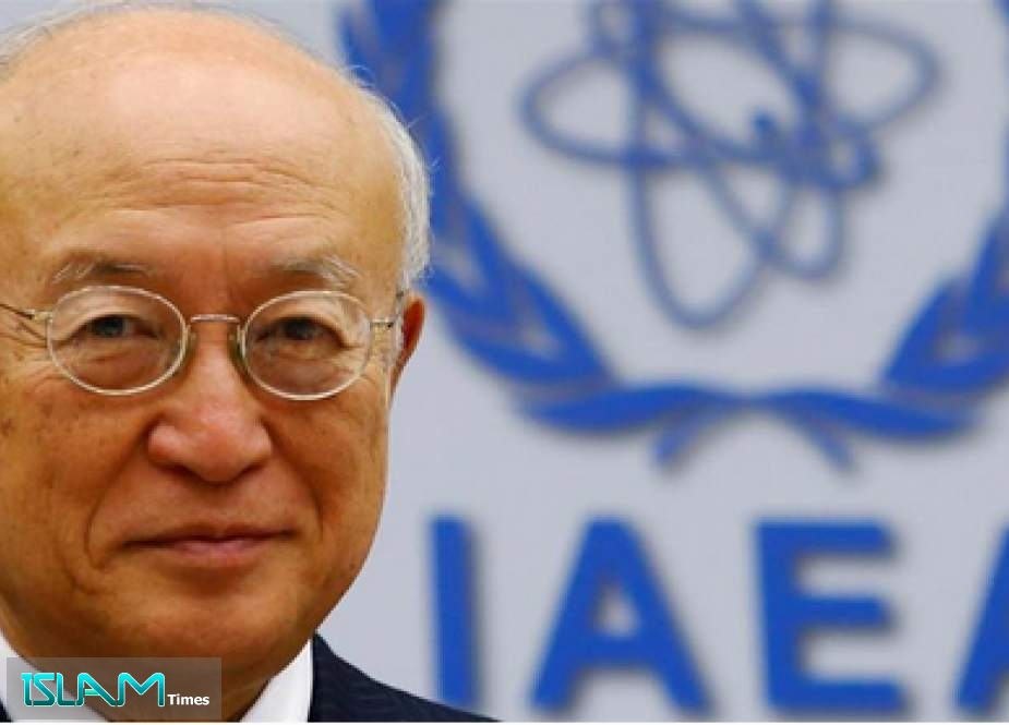 Yukiya Amano, a 72-year-old Japanese diplomat, was known as a reserved man [File:Heinz-Peter Bader/Reuters]