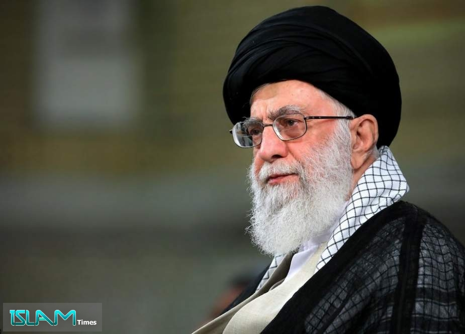 Leader of the Islamic Revolution Ayatollah Khamenei
