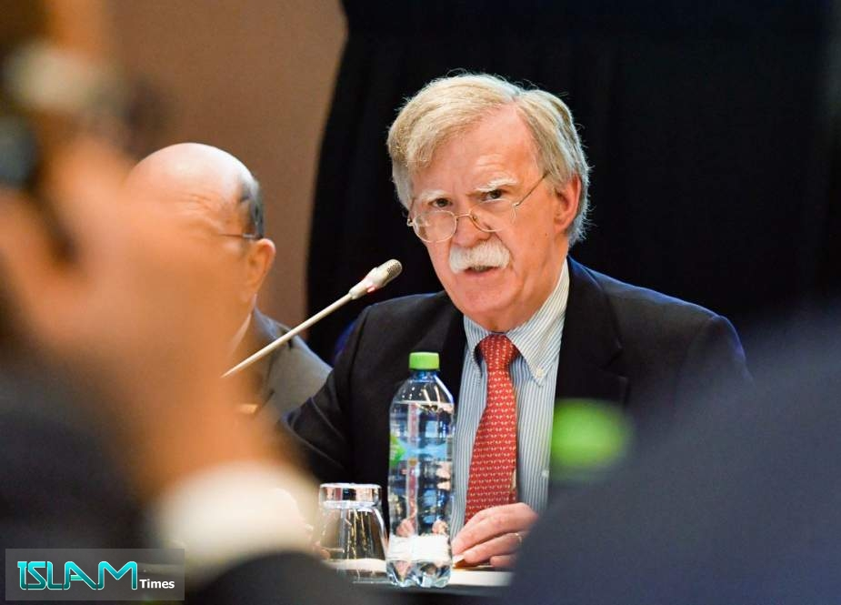 Bolton to push for tougher stance against Iran in UK visit