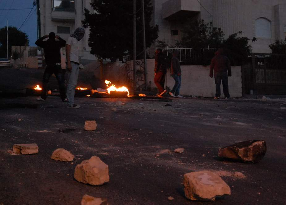Clashes erupted between Palestinians and IOF in Jalzone camp, north of Ramallah in West Ban.jpg