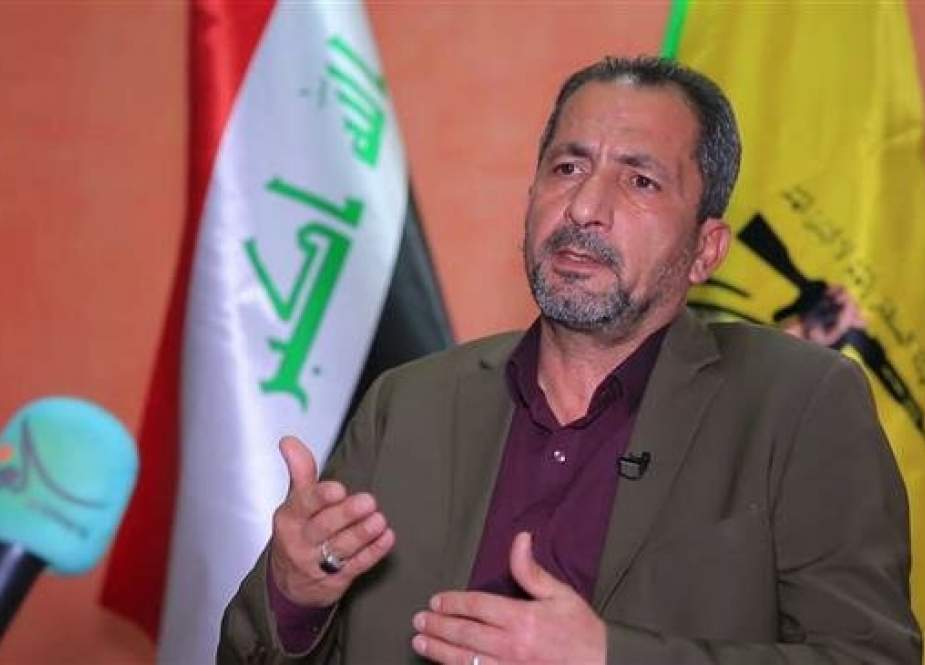 Mohammed Muhyi, spokesman for Iraqi pro-government resistance group Kata