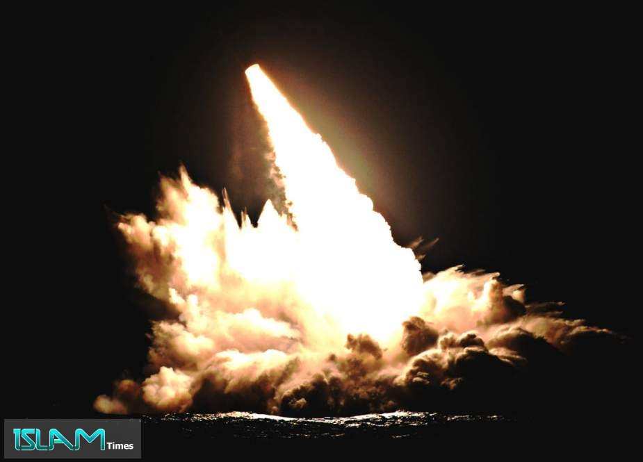 US Navy test fires 4 submarine-launched ballistic missiles