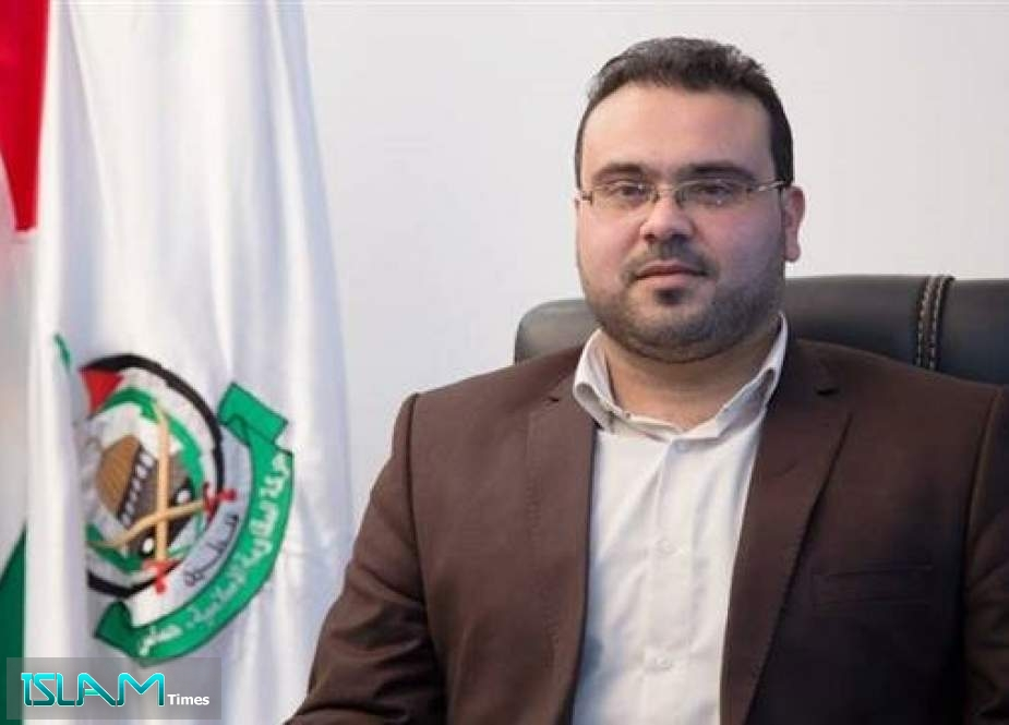 Hazem Qasem, a spokesman for Palestinian Hamas resistance movement