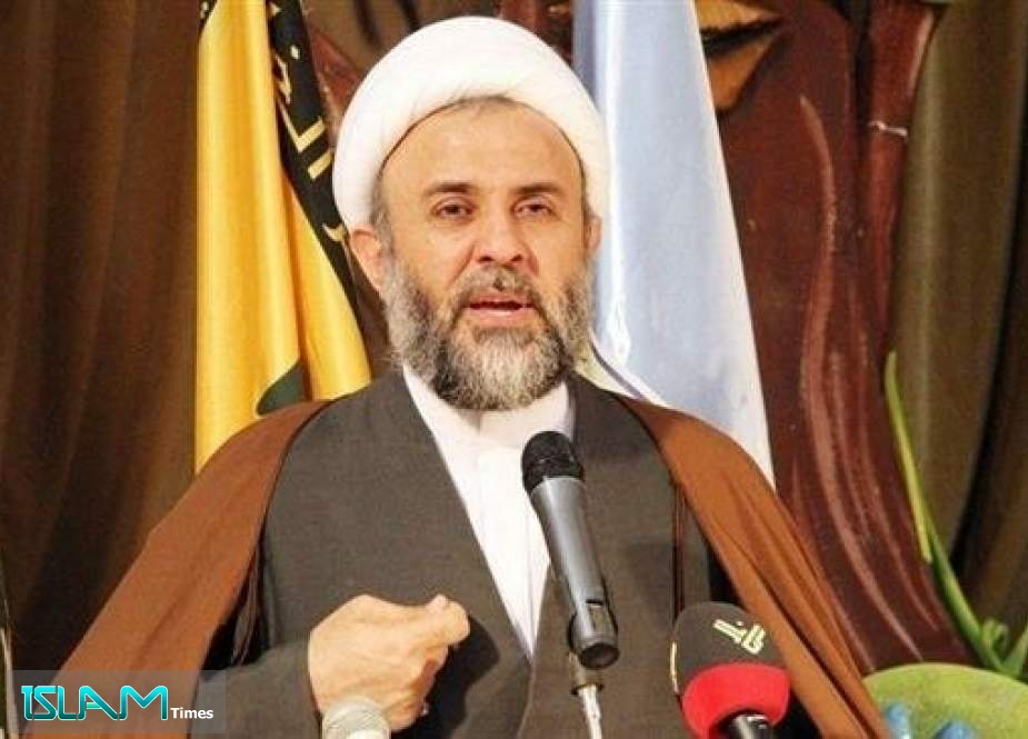 Deputy Chairman of Hezbollah's Executive Council Sheikh Nabil Qaouq