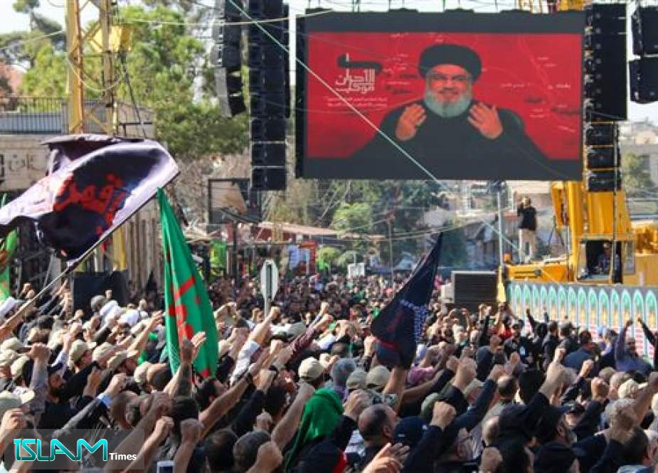 Sayyed Nasrallah Says Opposed to Government Resignation and Expresses Solidarity with Protesters