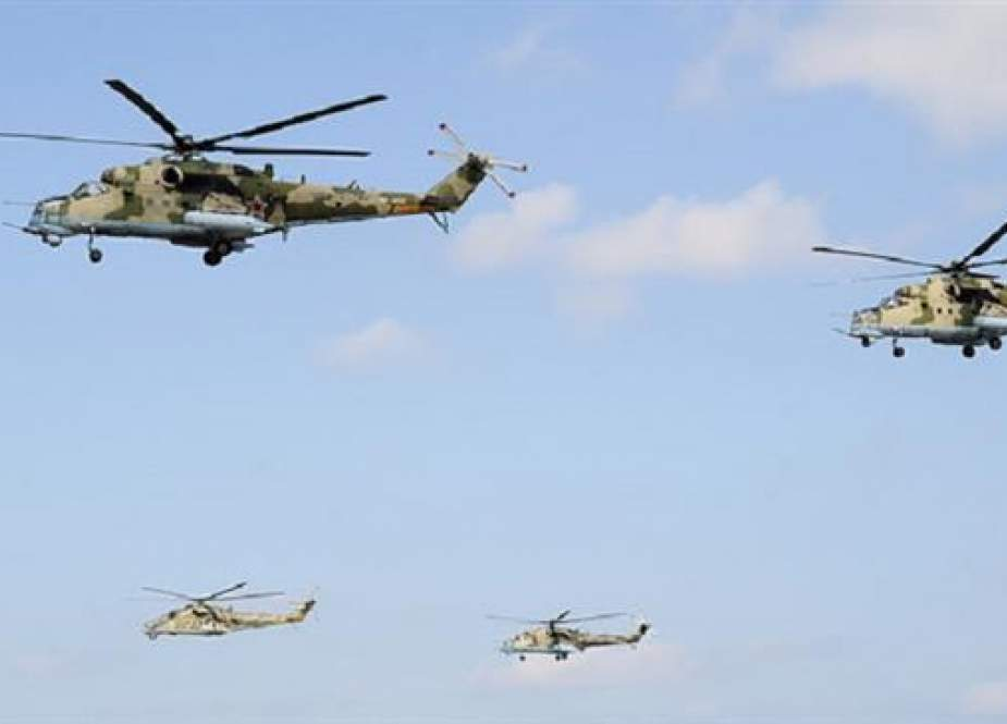 Russian Mi-35 and Mi-24 attack helicopters.jpg