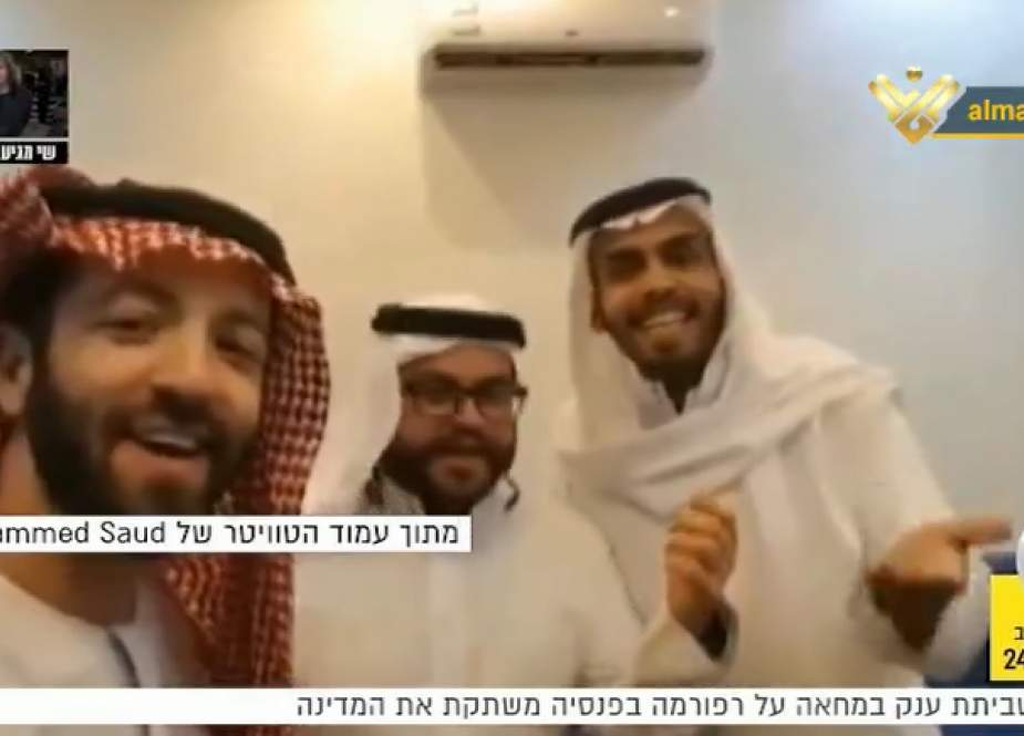 Tel Aviv and Riyadh have started reflecting the normalize mutual ties on the public level.png