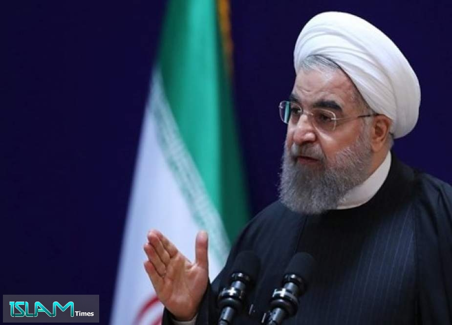 President Rouhani: Our Enemies Failed in The Escalation of The Embargo