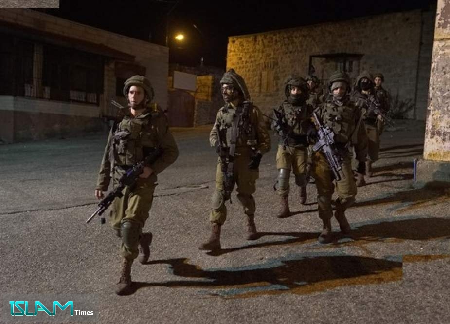 The Israeli Forces are Carrying out Raid and Arrest Campaign in the Occupied West Bank