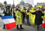 Yellow Vests Protesters Gather for March in Paris for Last Time This Year