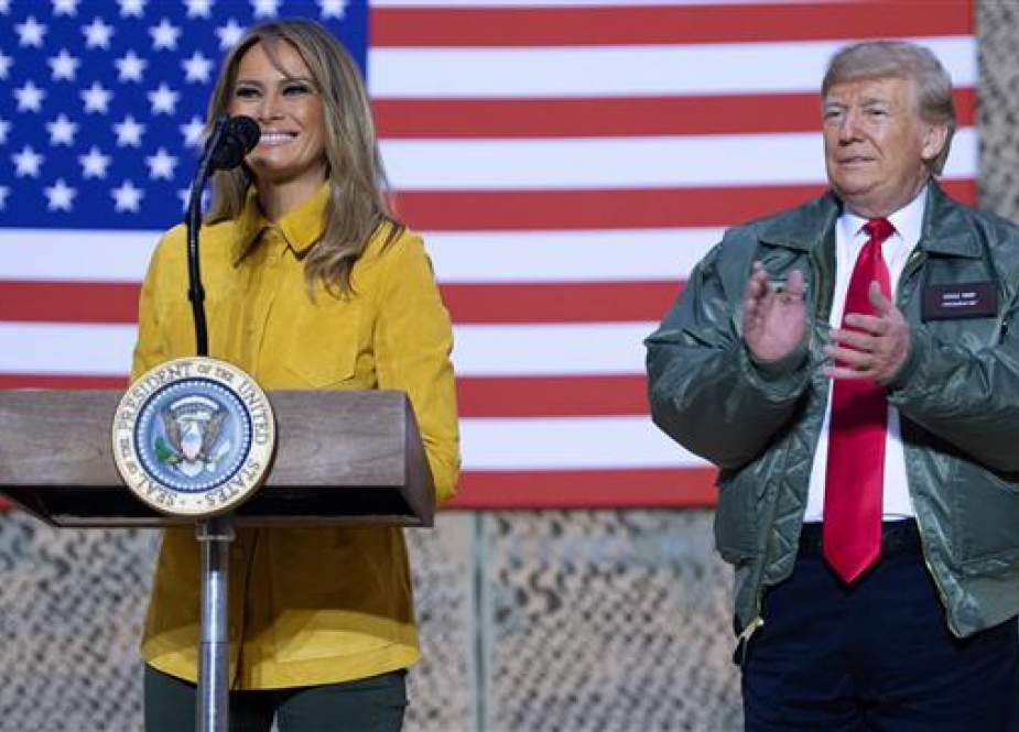 US President Donald Trump and First Lady Melania Trump.jpg